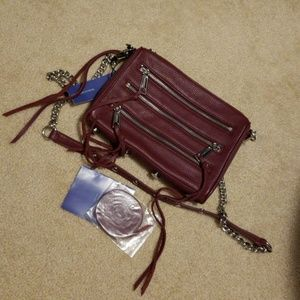 Rebecca minkoff port crossbody mini 5 zip